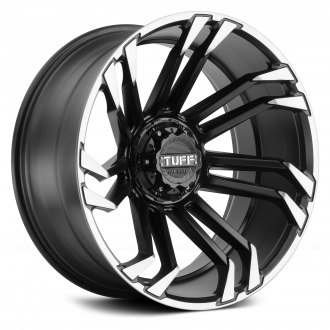 TUFF® - T21 Matte Black with Tinted Machined Flange
