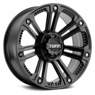 TUFF® - T22 Matte Black with Stainless Steel Bolts