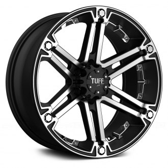 TUFF® - T01 Flat Black with Machined Face