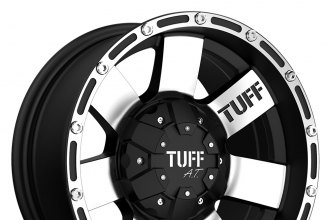 TUFF® - T02 Flat Black with Machined Face and Flange