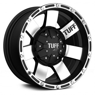 TUFF® - T02 Flat Black with Machined Face