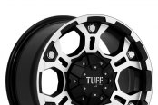 TUFF® - T03 Flat Black with Machined Face and Flange