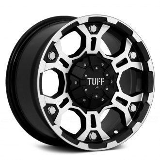 TUFF® - T03 Flat Black with Machined Face