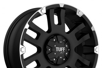 TUFF® - T04 Flat Black with Machined Flange