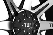 TUFF® - T05 Flat Black with Machined Face Close-Up