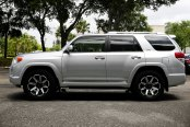 TUFF® - T05 Flat Black with Machined Face on Toyota 4Runner