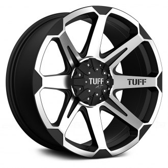 TUFF� - T05 Flat Black with Machined Face