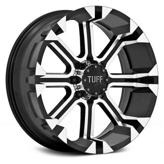 TUFF® - T13 Black with Machined Face
