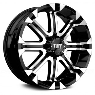 TUFF® - T13 Flat Black with Machined Face and Flange