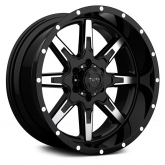 TUFF® - T15 Gloss Black with Machined Face
