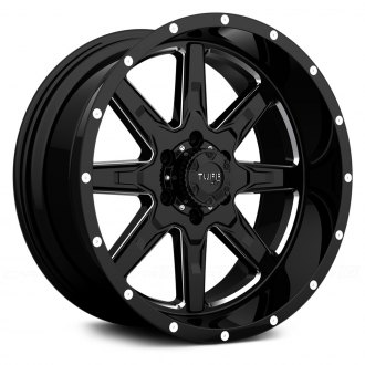 TUFF® - T15 Satin Black with Milled Accents