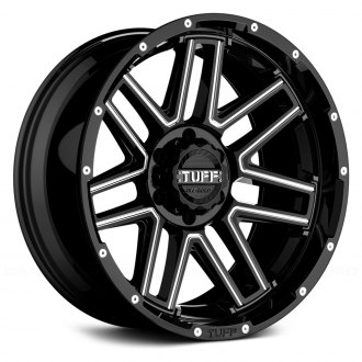 TUFF® - T17 Gloss Black with Milled Accents