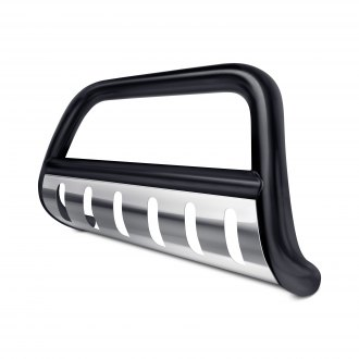 "Tuff-Bar® - 3"" Black Bull Bar with Skid Plate"