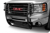 Image may not reflect your exact vehicle! Tuff-Bar® - Euro Style Black Powdercoat Grille Guard