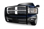 Tuff-Bar® - Euro Style Black Grille Guard