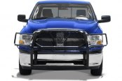 Image may not reflect your exact vehicle! Tuff-Bar® - HD Black Powdercoat Grille Guard - Installed