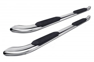 "Tuff-Bar® - 4"" Stainless Steel Oval Straight Tube Step Bars"