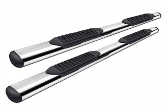 "Tuff-Bar® 5-40591 - 4"" Stainless Steel Oval Straight Tube Step Bars"