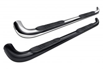 "Image may not reflect your exact vehicle! Tuff-Bar® - 4"" Oval Bent Side Bars"