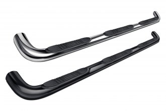 "Image may not reflect your exact vehicle! Tuff-Bar® - 3"" Round Bent Tube Step Bars"