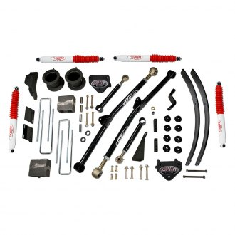 "Tuff Country® - 4.5"" x 3"" Front and Rear Long-Travel Suspension Lift Kit"