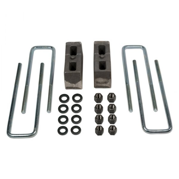 Tuff Country® - Flat Rear Lifted Blocks and U-Bolts