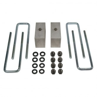 "Tuff Country® - 3.5"" Flat Rear Lifted Blocks and U-Bolts"