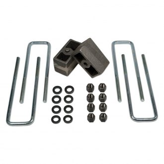"Tuff Country® - 3"" Tapered Rear Lifted Blocks and U-Bolts"