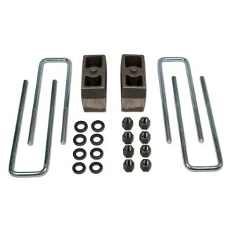 "Tuff Country® - 4"" Tapered Rear Lifted Blocks and U-Bolts"