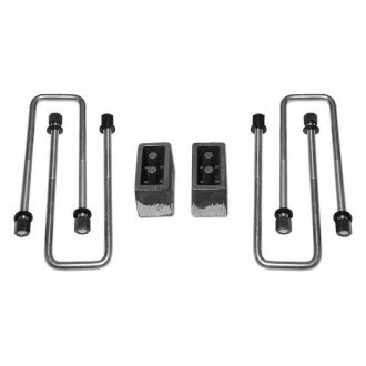 "Tuff Country® - 3"" Flat Rear Lifted Blocks and U-Bolts"