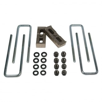 "Tuff Country® - 1"" Flat Rear Lifted Blocks and U-Bolts"