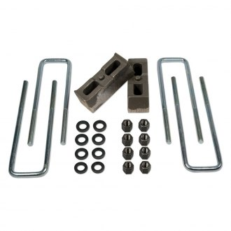 "Tuff Country® - 2"" Flat Rear Lifted Blocks and U-Bolts"