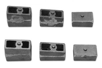 "Tuff Country® - 2"" Non-Tapered Lift Blocks"