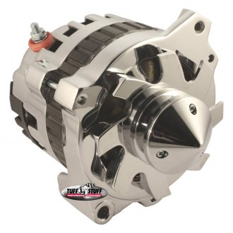 "Tuff Stuff Performance® - 6.125"" Bolt To Bolt Silver Bullet™ Alternator"