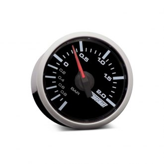 Turbosmart® - In-Dash Black Face Boost Gauge
