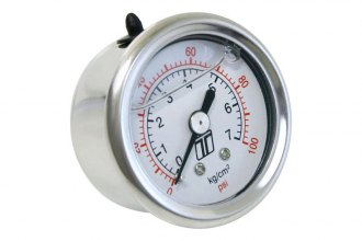 Turbosmart® - Liquid Filled Fuel Pressure Regulator Gauge