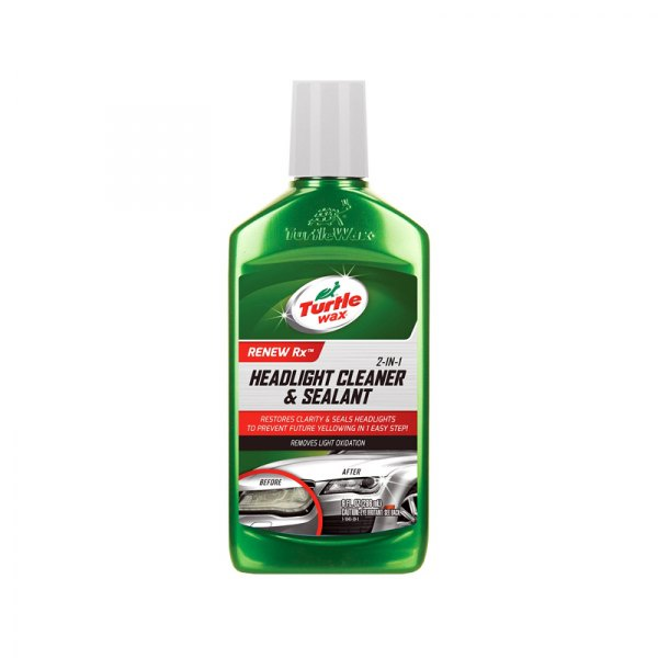 Turtle Wax T43 Renew Rx Headlight Cleaner And Sealant