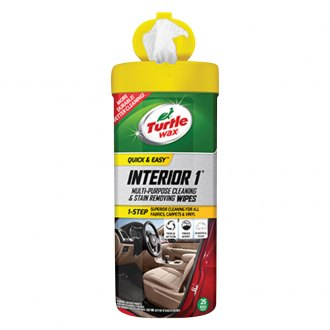 Turtle Wax® - Interior 1™ Multi-Purpose Cleaning Wipes