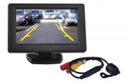 "Tview® RV43C - Rear View 4.3"" Stand Monitor and Back Up Camera"