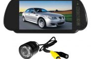 "Tview® - Rear View Mirror with Built-In 7"" Monitor and Back Up Camera"