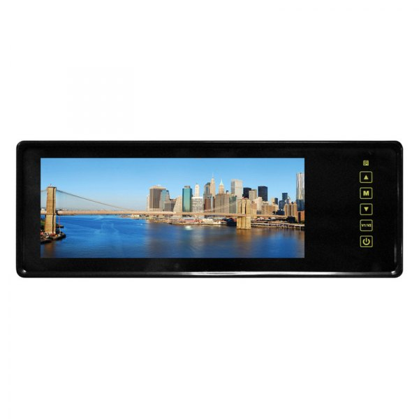 "Tview® - Rear View Mirror with Buil-In 8.1"" TFT-LCD  Monitor and Back Up Camera"
