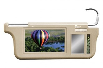 "Tview® - Driver and Passenger Side 7"" Tan Sunvisor Monitor"