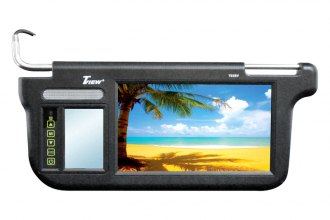 "Tview® - Driver and Passenger Side 9"" Black Sunvisor Monitor"