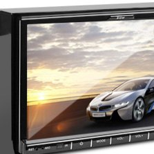 "Tview® - 7"" Double DIN Receiver with DVD Player"