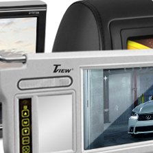 Tview® - Drive and Passenger Side Sunvisor Monitors
