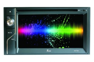 "Tview® - Double DIN AM/FM/DVD/MP3/USB Receiver with 6.1"" Touchscreen, Display and Bluetooth"