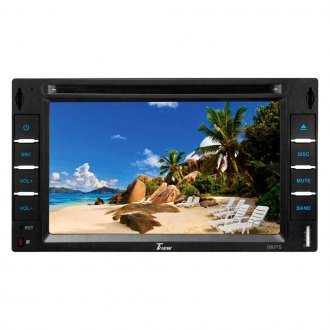 "Tview® - Double DIN DVD/AM/FM/MP3 Receiver with 6.2"" LCD Monitor and Built-In Bluetooth"