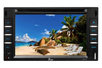 "Tview® - Double DIN 6.2"" Touch Screen LCD DVD/AM/FM Receiver"