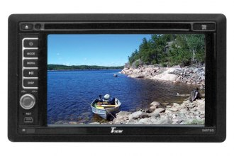"Tview® - Double DIN DVD/CD Receiver with 6.2"" Touchscreen LCD and Built-In GPS, Bluetooth"