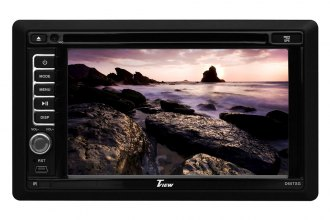 "Tview® - Double DIN 6.2"" Touch Screen LCD Receiver with Built-In GPS and Bluetooth"